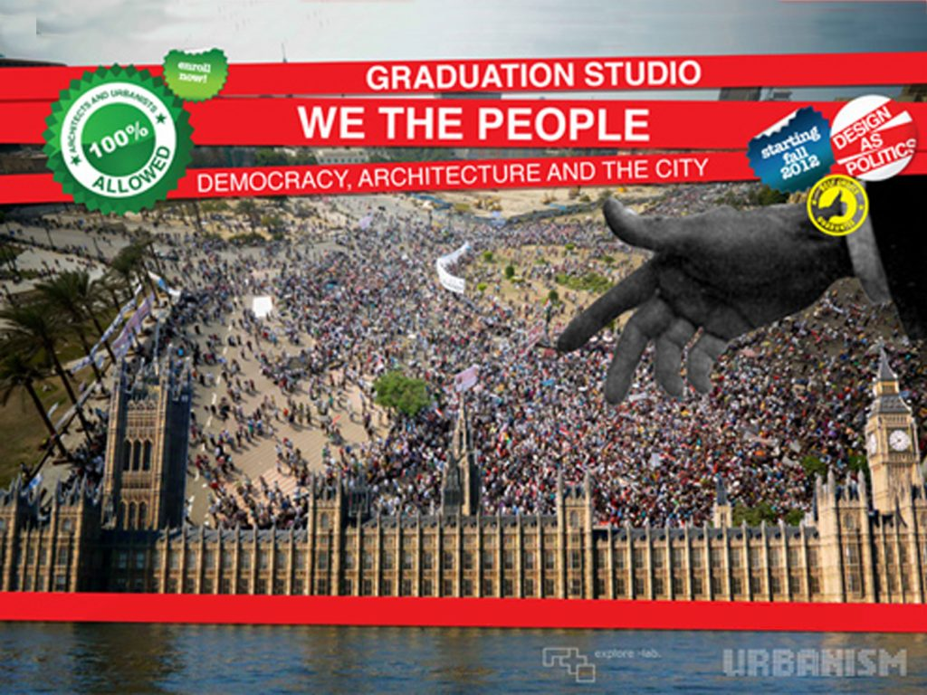 Graduation Studio 2012/13 – We the People
