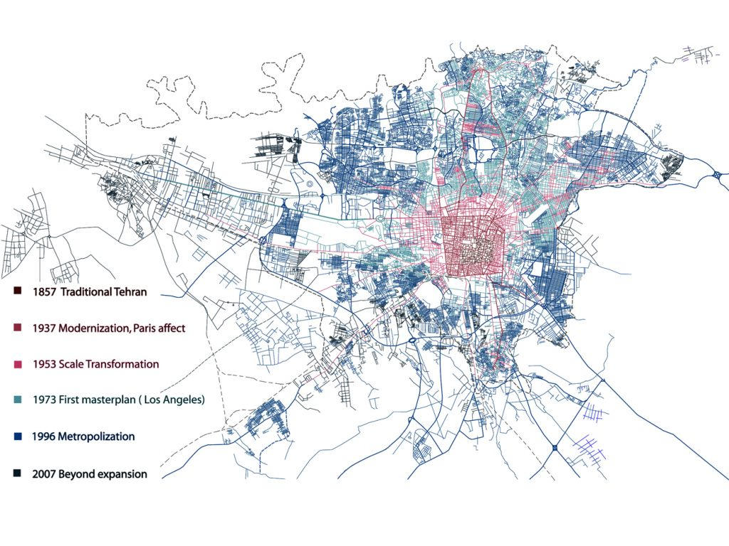 Transforming the Future: Modernization processes and regionalization of Tehran Metropolis